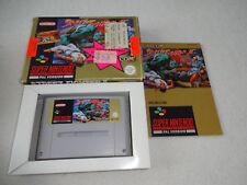Street Fighter II SNES Spiel komplett mit OVP und Anleitung