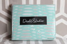 NIP Dwell Studio Dwellstudio Maya Turquoise Full/Queen Duvet & Sham Set $169
