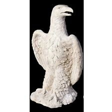 Guardian Eagle Statue 88cm Garden/indoor Patio Ornament Resin Stone Finish