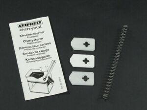 Leifheit Ersatzteil-Set 4 tlg. für Kirschentkerner Cherrymat Küchenhelfer 37202