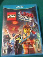 The LEGO Movie Videogame [Nintendo Wii U, NTSC, Action Adventure Video Game]