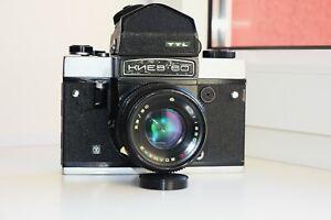 Kiev-60 TTL SOVIET MEDIUM Format 6x6 PENTACON SIX COPY FILM camera w/s MC VOLNA