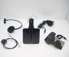 Plantronics CS540/A Wireless Convertable DECT Headset with HL10 Lifter Tested OK