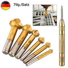 4st Satz HSS Querlochsenker Entgrater Kegel Senker  2-5mm 5-10mm 10-15mm 15-20mm