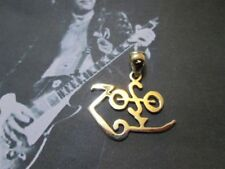 Zoso logo of Jimmy Page Led Zeppelin Pendant made GOLD 18 K.-handicraft