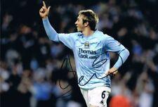 Michael Johnson Manchester City autógrafo firmado foto Leicester