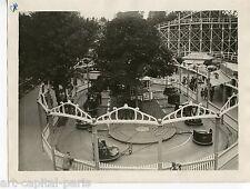 LUNA PARK FÊTE FORAINE PHOTOGRAPHIE 1928 ARGENTIQUE ORIGINALE VINTAGE PHOTOGRAPH