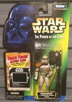 1997 - RARE -Star Wars POTF freeze frame - SANDTROOPER  ⭐️CASED & MINT⭐️