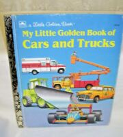 My Little Golden Book of Cars and Trucks by Chari Sue 1991