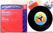 Marianne Faithfull TENDER Ness * over here * Island Records 103.877
