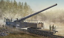 HobbyBoss 82903 - 1:72 German 280 mm k5 (E) Railway Gun Leopold-Neuf
