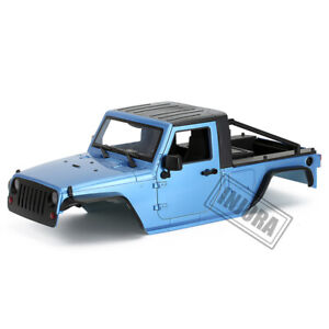 """313mm 12.3"""" WB Pickup Body Shell Kit for 1/10 RC Axial SCX10 & SCX10 II 90046"""