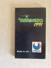 IL GUERINETTO -AGENDA ALMANACCO CALCIO GUERIN SPORTIVO - 1991 FOTO INTER BOLOGNA