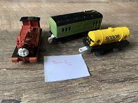 Trackmaster Thomas - Joblot/Bundle Harvey And Motorised Carriage VGC