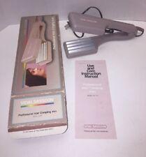 New Vintage 1987 Vidal Sassoon Hair Waver Crimper Styler Crimping Iron Sassoon