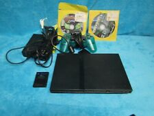 Sony PlayStation 2 - Slim Black Home Console SCPH-75001 with control