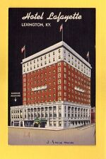 Lexington,KY Kentucky Hotel Lafayette used 1947 Len Shouse Jr., Manager