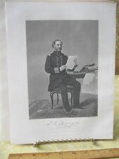 Vintage Print,DAVID FARRAGUT,Gallery Eminent Americans,Alonzo Chappel,1860-62