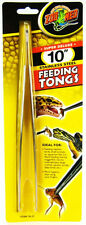 Zoo Med Stainless Feeding Tongs All Animal Fish Reptile Snake. Free Ship To Usa