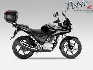 Brand New Black Givi Top Box And Fitting Kit For Honda CBF125 CBF 125