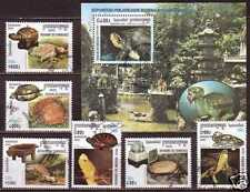 Turtles Cambodge S/S+6 stamps 2000