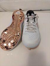 Nike Alpha Huarache Elite 2 Low Baseball Cleats AJ7732-109 Metallic Gold Sz 9
