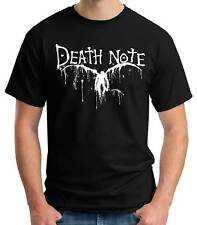 Camiseta Hombre Death Note manga t-shirt manga corta anime