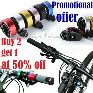 Mini Bicycle Bell Ring Aluminium Alloy Bike Loud Horn MTB Handlebar Alarm Unisex