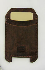 Leather Mobile Phone Pouches/Sleeves with Card Pocket