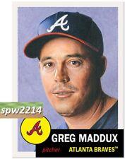 Topps Living Set Greg Maddux #341