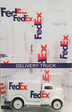 Hot Wheels CUSTOM '49 FORD COE FedEx Real Riders Limited 1/25 Made!