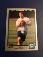 2001 Topps #331 JOSH HEUPEL ROOKIE Card RC QB Miami Dolphins Oklahoma Look