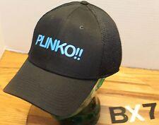 "NEW ERA 39THIRTY ""PLINKO!!"" HAT BLACK SIZE L/XL IN VERY GOOD CONDITION BX7"