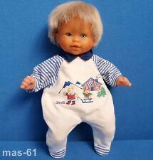 COROLLE poupée Calin CHAMEUR 33 CM blonde doll BEBE France 95/12 J 12 e poupee