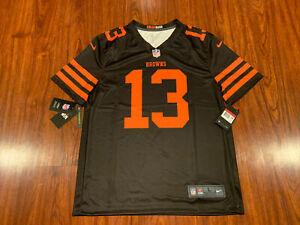 Nike Mens Odell Beckham Jr Cleveland Browns Color Rush Legend Jersey Large L NFL