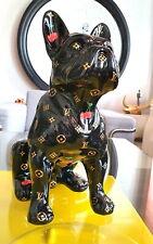 LOUIS VUITTON Bulldog pop art sculpture - limited edition 2/10.