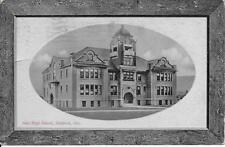 New High School Medford OR Handsome Vintage postcard postally used in 1912