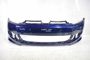 GENUINE VOLKSWAGEN VW GOLF MK6 R LINE FRONT BUMPER in BLUE 2009-2013 5K0807221S