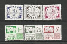 Jersey 1969 cuotas de gastos de envío SG, D1-D6 U/M N/H Lote R383