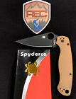 """Spyderco Paramilitary 2, REC Exclusive w/t 10V Steel, """"Brand New"""""""
