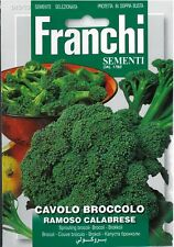Franchi Seeds Sprouting Broccoli Cavolo Broccolo Ramoso Calabrese seed