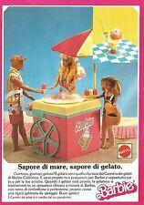 X2360 Barbie - Carretto dei Gelati - Mattel - Pubblicità 1988 - Advertising