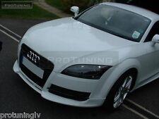 Audi TT 8J 06-14 Front Bumper spoiler S line lip addon S-Line abt Valance TTS