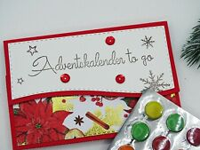 Adventskalender to go - Mini-Adventskalender Adventskalender Schokolinsen