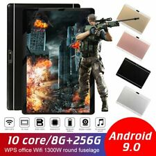 Android 9.0 Ten Core 10.1 Inch HD Game Tablet Computer PC GPS Wifi Dual Camera D