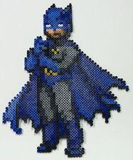 Batman perler art  necklace rave edm edc kandi sprite hama plur melty DC comic