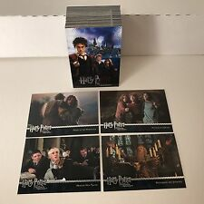 HARRY POTTER & THE PRISONER OF AZKABAN SERIES 1 Complete Trading Card Set (1-90)