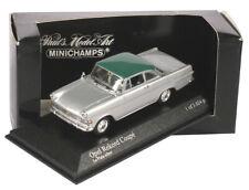 1:43 Minichamps - Opel Rekord Coupé P2 1962 - silber/türkis