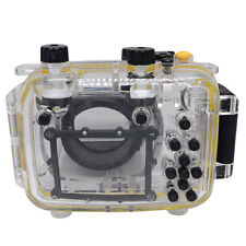 Mcoplus 40m/130ft Underwater Waterproof Diving Housing Camera Case for Canon G11