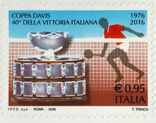 Italien Italy 2016 Michel Nr. 3964 Gewinns des Tennis-Davis-Cup-Turniers Sport